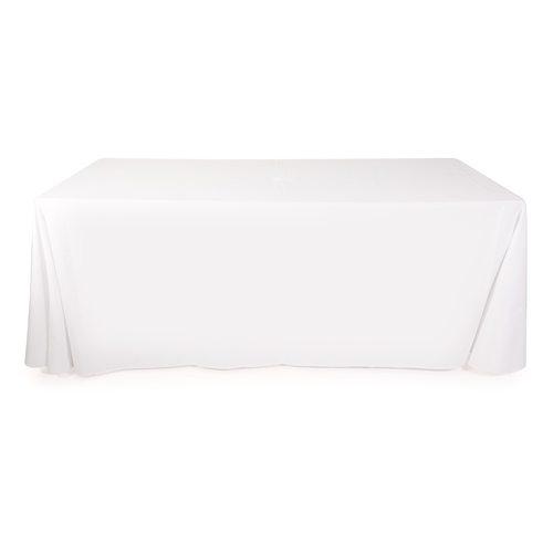 White, full length table cloths