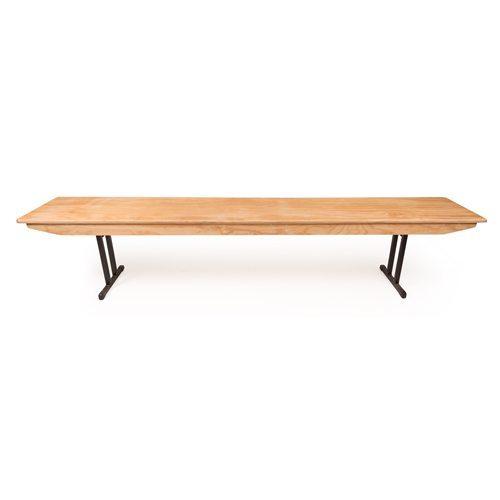 Hire Long Folding Bench