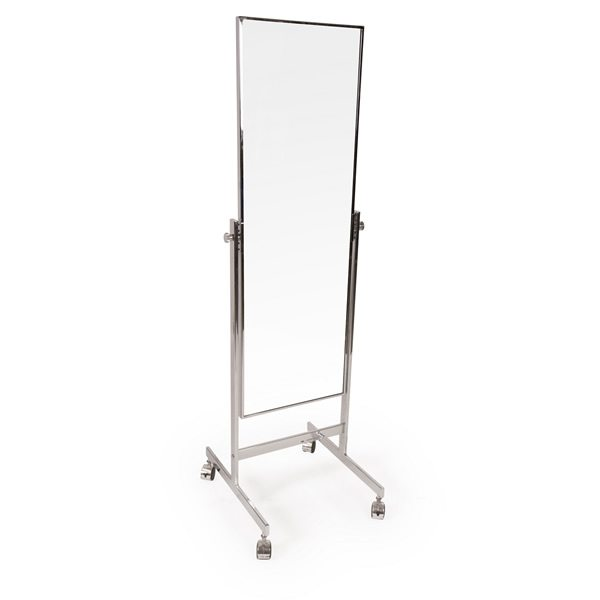 Full length mirror with wheels
