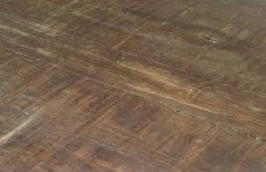 Dark timber trestle table texture