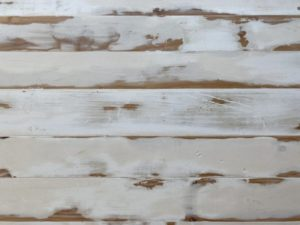 Washed pine timber trestle table top texture