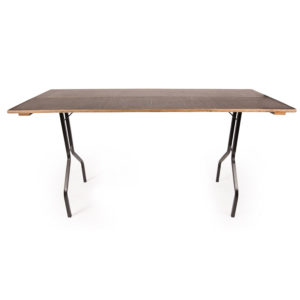 Basic folding table for hire