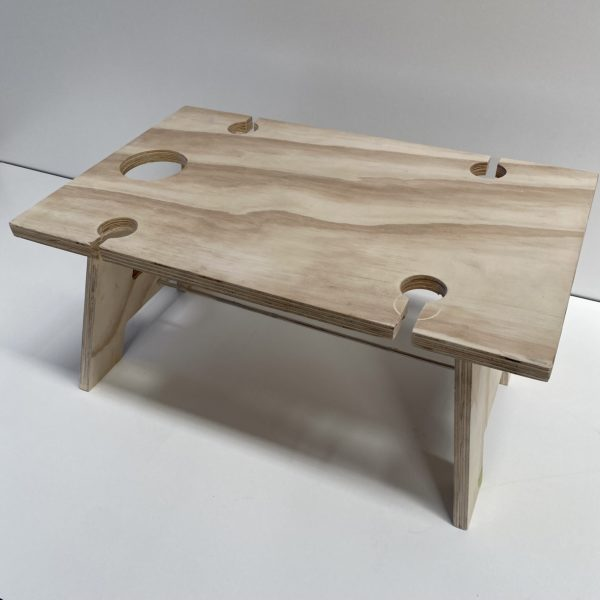 Wooden Wine Picnic Table